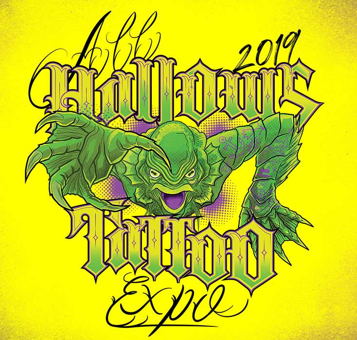 All Hallows Tattoo Expo logo