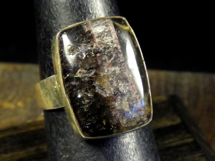 Graphite Quartz Ring