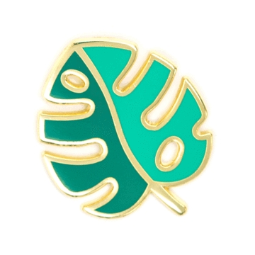 Monsterra leaf pin
