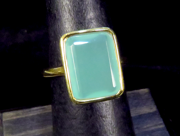 Art Deco Chalcedony Ring