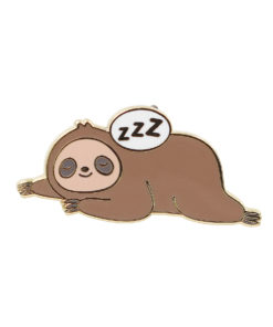 Sleepy Sloth Pin