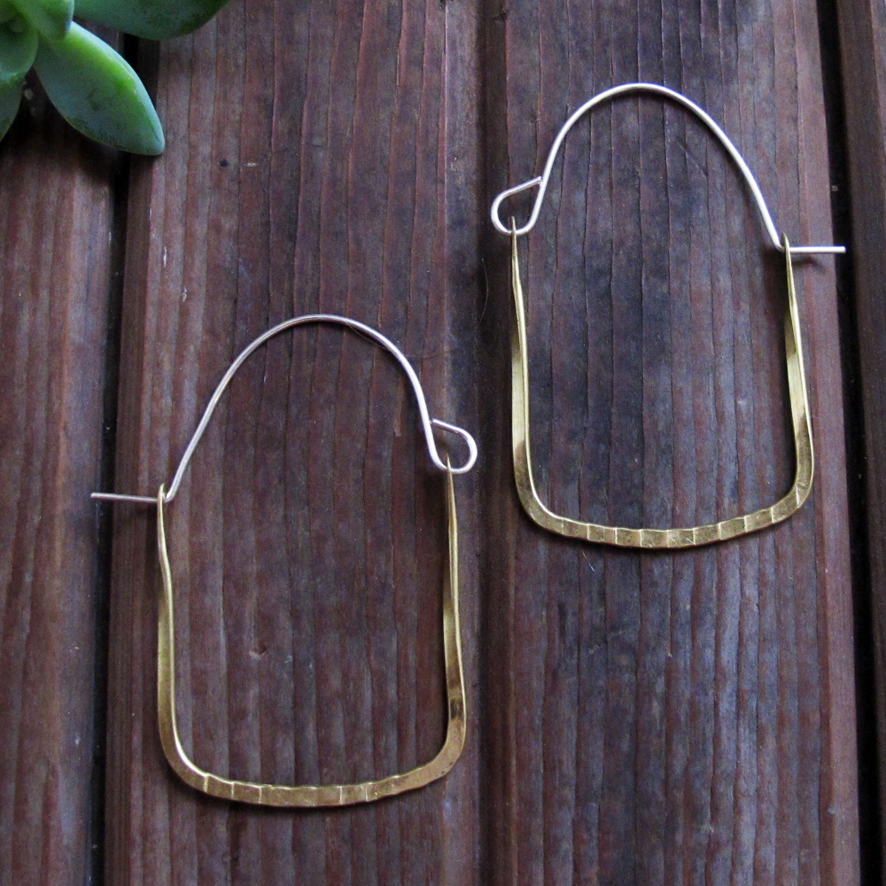Frame Hoops Earrings