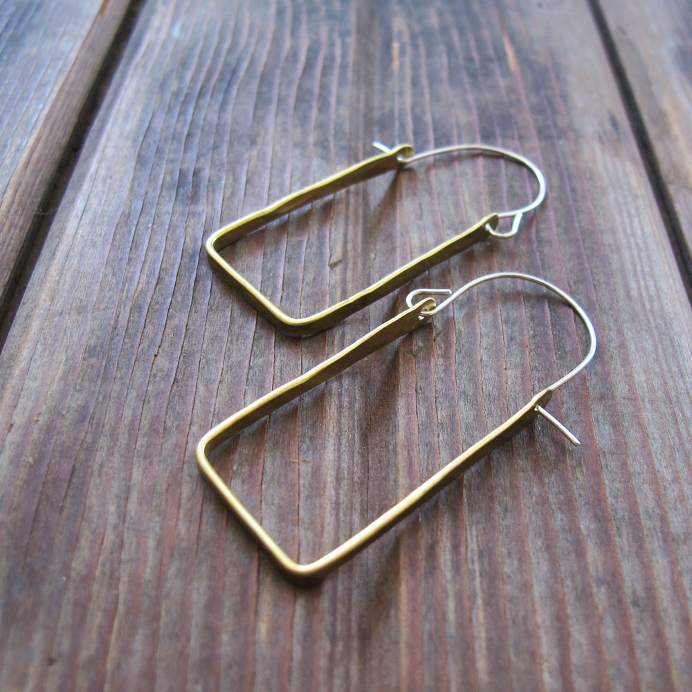 Geometry Hoops earrings