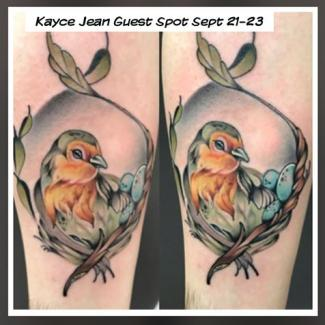 Tattoo Artist Kayce Jene from Dallas Texas!