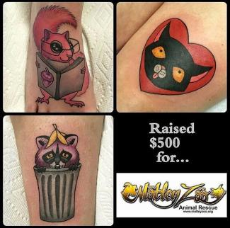Tattoos by Robyn Emlen